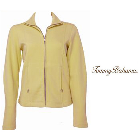 Canary Diamond French Kiss Jacket by Tommy Bahama