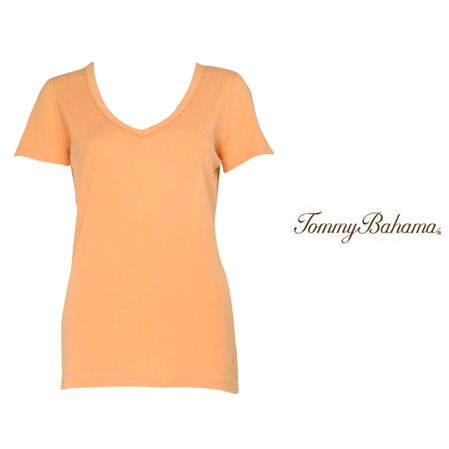 Gerbera Booker V-Neck Tee by Tommy Bahama