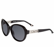 Tommy Bahama Black Glam Overboard TB7026 Polarized Sunglasses for Women