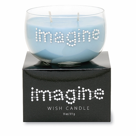 Crystal Imagine Wish Candle by Primal Elements