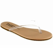 Tkees Sheer Foundations Collection Sheer 03 Leather Sandals