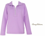 Summer Plum Aruba Half Zip Sweatshirt by Tommy Bahama