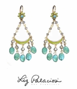 Flores Sky Drop Earrings by Liz Palacios