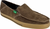 Men's Brown Standard Corduroy Sidewalk Surfers