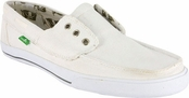 Men's White Scurvy Sidewalk Surfers by Sanuk