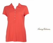 Bright Coral Doheny Jersey Polo by Tommy Bahama