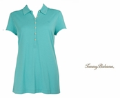Blue Freeze Doheny Jersey Polo by Tommy Bahama