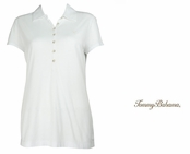 White Doheny Jersey Polo by Tommy Bahama