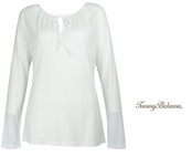 Doheny Tie Long Sleeve Top by Tommy Bahama