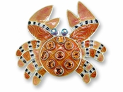 Crystal Crab Pin by Zarah Co.