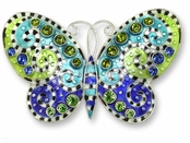 Crystal Butterfly Pin by Zarah Co.