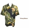 Coal Moon Over Laguna Silk Camp Shirt by Tommy Bahama