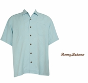 Plume Bird It Through The Grapevine Silk Camp Shirt by Tommy Bahama