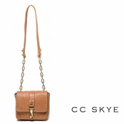 CC Skye Brown Annie Hall Crossbody Bag