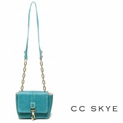 CC Skye Turquoise Annie Hall Crossbody Bag