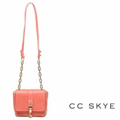 CC Skye Coral Annie Hall Crossbody Bag