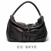CC Skye Black Perforated Leather Olivia Bag