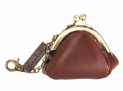 Glam Naturale Genuine Leather Coin Purse