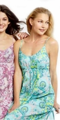 BedHead Palm Springs Paisley Pool Ballet Gown