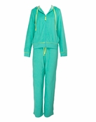 Lagoon Green Baby Terry Hoodie by Lilly Pulitzer