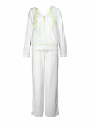 White Baby Terry Pant by Lilly Pulitzer