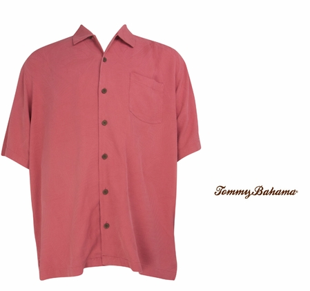 Rosa Coast Bird It Through The Grapevine Silk Camp Shirt by Tommy Bahama