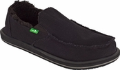 Men's Black Vagabond Chill Sidewalk Surfers by Sanuk