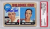Johnny Bench Rookie PSA/DNA Autograph - 1968 Topps RL
