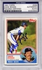Wade Boggs Rookie PSA/DNA Certified Authentic Autograph - 1983 Topps