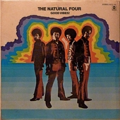 The Natural Four - Good Vibes Records/LP (Sealed Original)