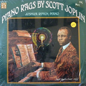 SCOTT JOPLIN - PIANO RAGS Record/LP (SEALED)