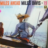 MILES DAVIS - MILES AHEAD (6-Eye) Record/LP
