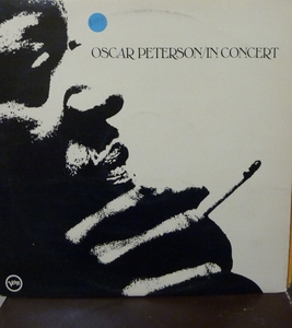 OSCAR PETERSON -  OSCAR PETERSON IN CONCERT 2-Record/LP
