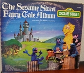 THE SESAME STREET - FAIRY TALE ALBUM Record/LP