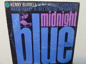 KENNY BURRELL - MIDNIGHT BLUE (Blue Note) Record/LP