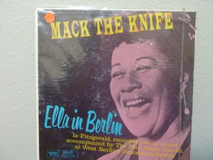ELLA FITZGERALD - MACK THE KNIFE Record/LP