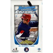 2011 BOWMAN CHROME BASEBALL HOBBY 12CT CASE