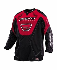 Proto Paintball Jersey 07 - Red XXX-Large