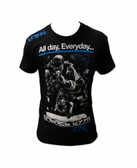 Contract Killer Paintball T-Shirt - ALL DAY EVERYDAY