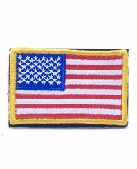 US Flag BDU/ Jersey Patch with Velcro Fastening - Full Color - Right Arm