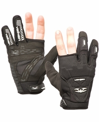 Valken Impact 2 Finger Paintball Glove - Black