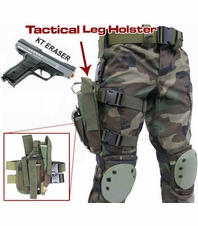 KT Eraser Leg Holster Package with Marker