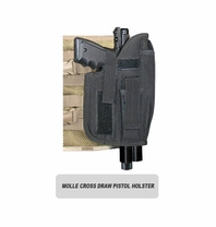MOLLE Ranger Tactical Cross Draw Holster (Right - Big)