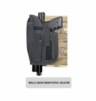 MOLLE Ranger Tactical Cross Draw Holster (Left - Big)