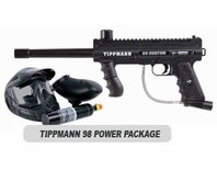 Tippmann 98 Custom Platinum with ACT and Electronic Trigger Basic Power Package