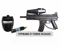 Tippmann X7 Paintball Marker and Response Trigger Basic Power Package
