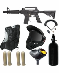 Alpha Black Tactical Edition Scenario Kit - 48 ci HPA