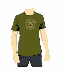 Tippmann Chevron Paintball T-Shirt - Olive