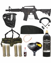 US ARMY Alpha Black Tactical Tippmann SNIPER Gun