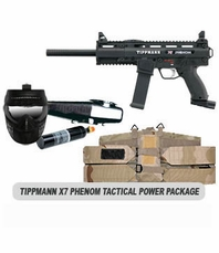 Tippmann X7 Phenom Paintball Marker Tactical Power Package
